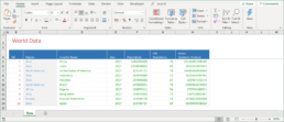SPREADSHEET SOLUTIONS   DATA > TABLE